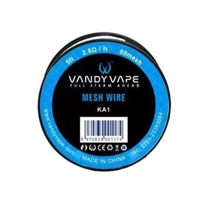 Vandy Vape - Mesh Wire KA1 80mesh - Wickeldraht