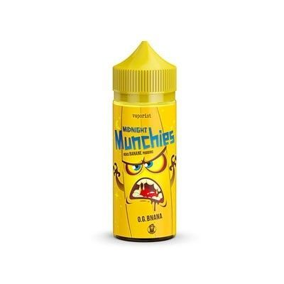 Vaporist - Shake & Vape Liquid - Midnight Munchies - O.G. BNANA 100ml