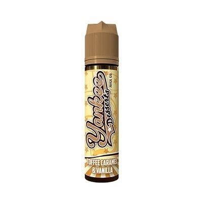 Yankee Juice.Co. - Dessert - Toffee Caramel & Vanilla - Longfill Aroma