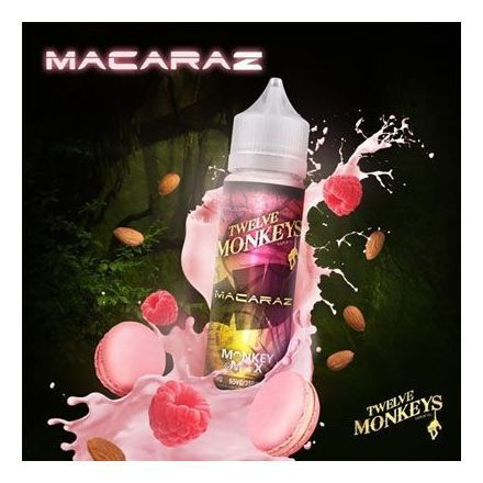 Twelve Monkeys - Shake & Vape Liquid - MacaRaz