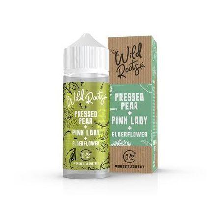 Wild Roots - Pressed Pear + Pink Lady + Elderflower - Shake & Vape Liquid